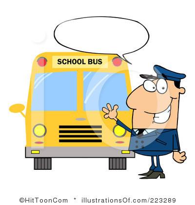 School Bus Driver Clip Art.