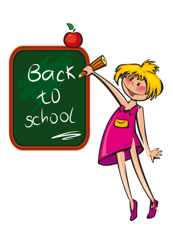 Free Clipart: School days.