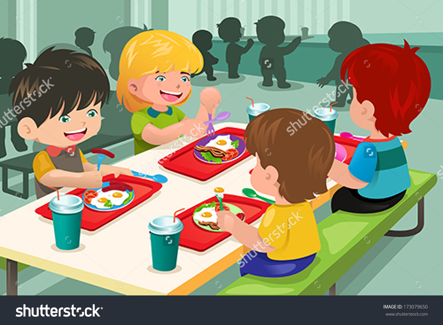 School Cafeteria Building Clipart 20 Free Cliparts -8959