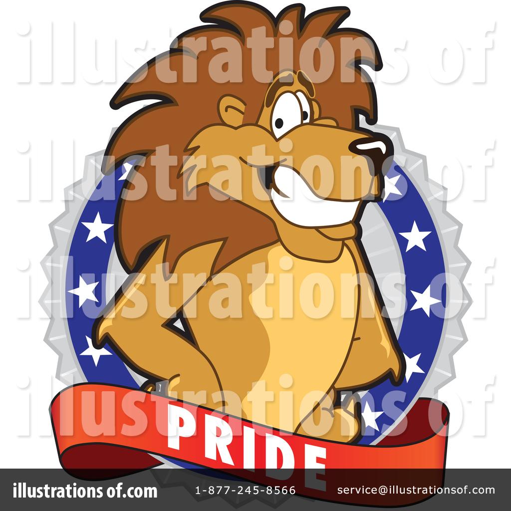Lion School Mascot Clipart #1361782.