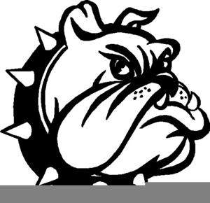 Free For Use Bulldog School Mascot Clipart.