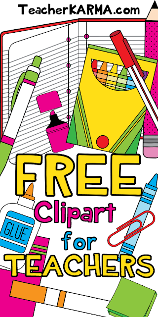FREE Clipart for Classroom Teachers.