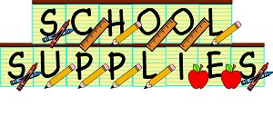 School supplies free school supply clipart clipartfest.