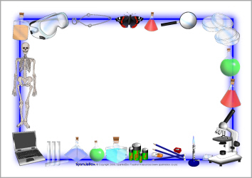 Science Clipart Borders.