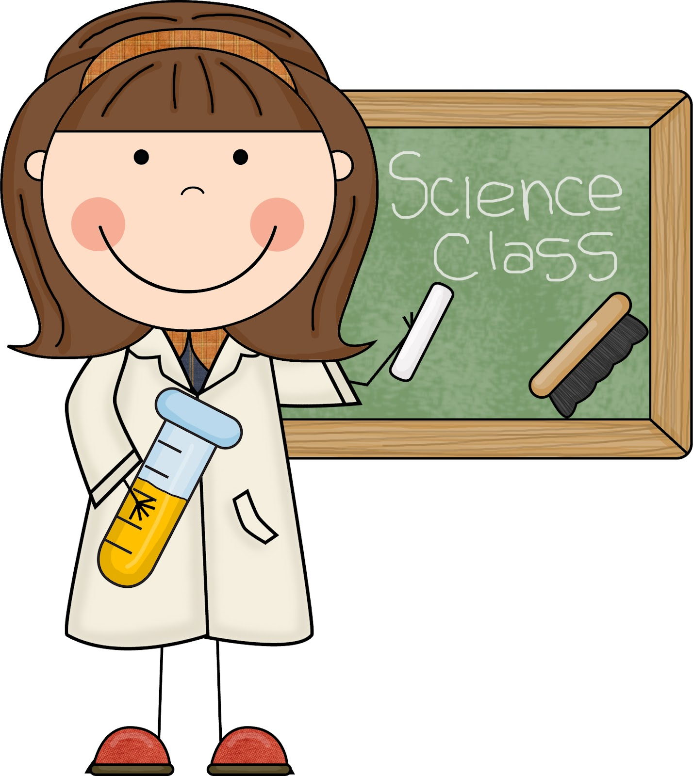 Science Teacher Clipart Images.