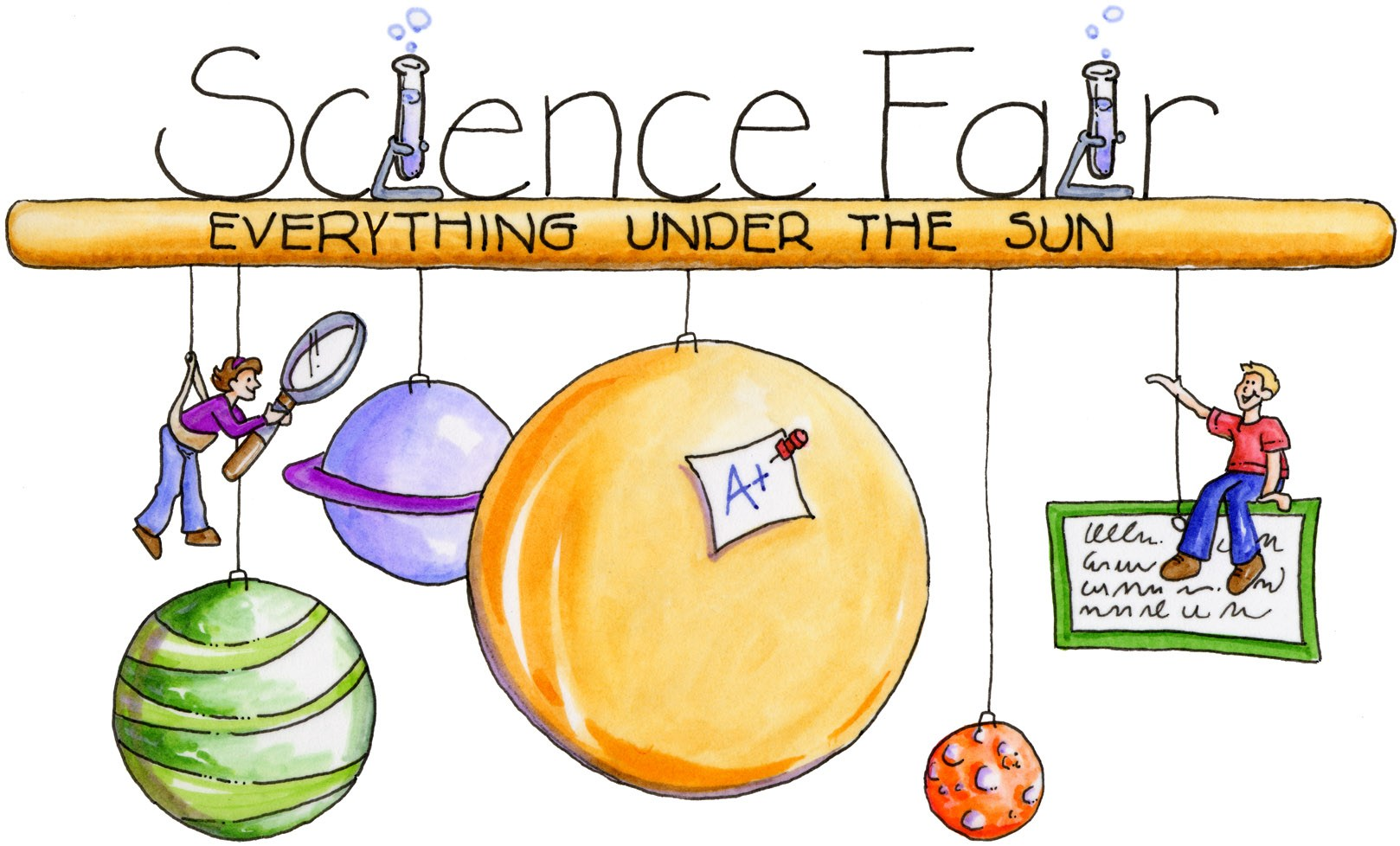 Free science fair clipart 5 » Clipart Portal.