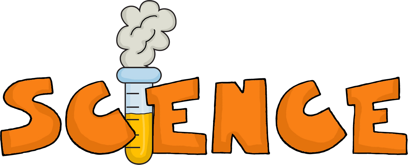 The Word Science Clipart.