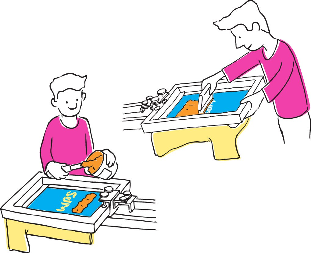 Free Screen Printing Cliparts, Download Free Clip Art, Free.