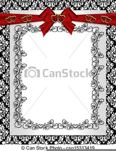 Free Scroll Clipart For Wedding Invitations.