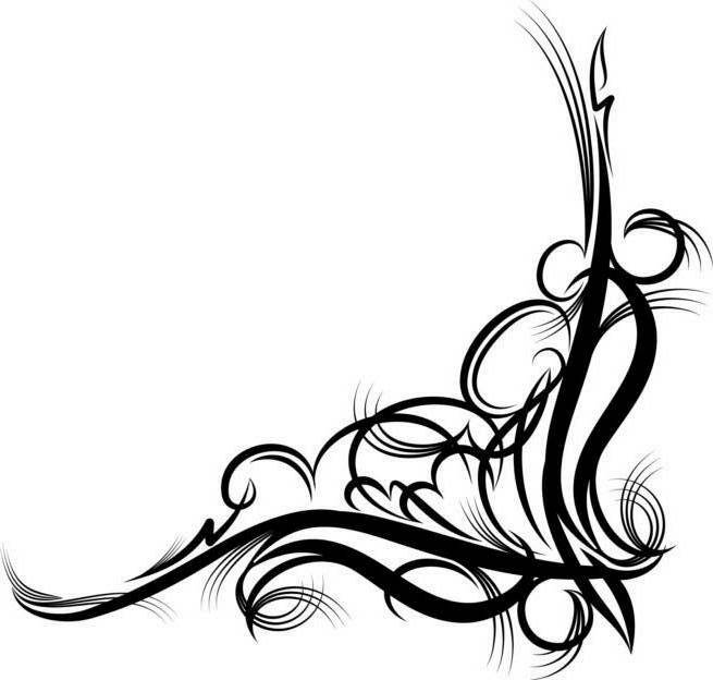 Scrollwork free scroll clipart free clipart images 2 image #28366.