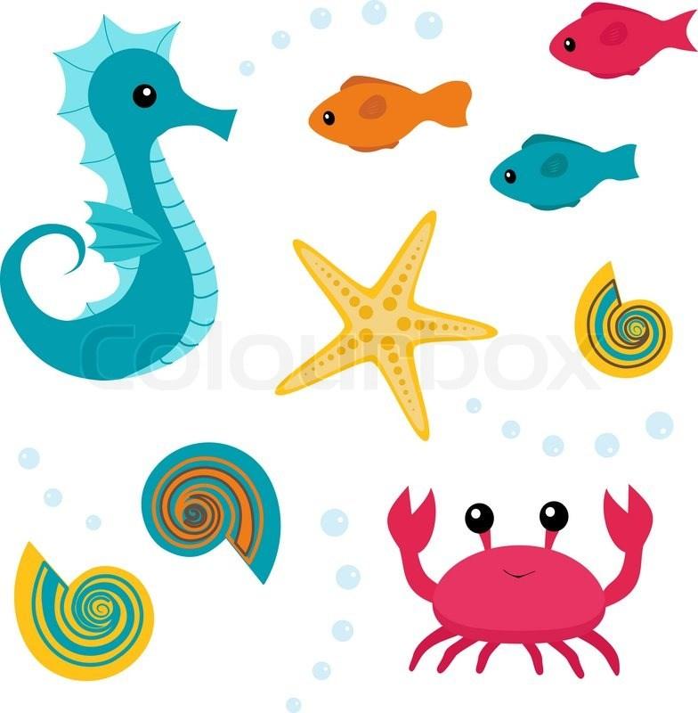 Free sea life clipart 5 » Clipart Portal.