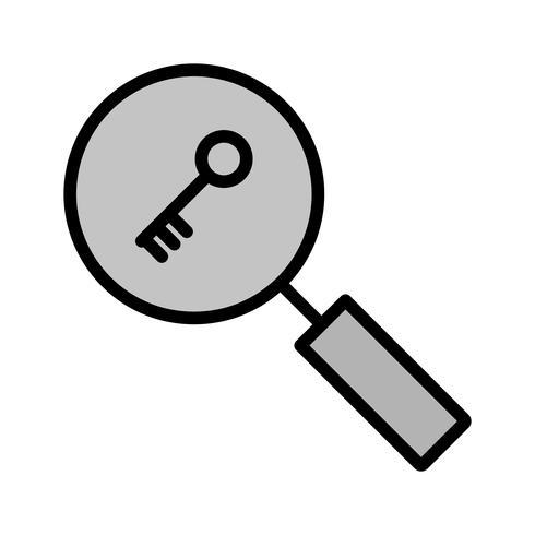 Keyword Search Icon Design.