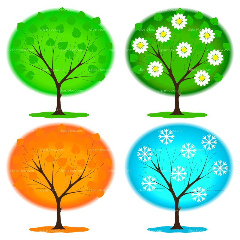 Seasons Clip Art Free.
