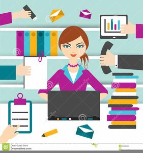 Secretary Image Clipart.