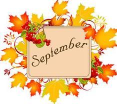 Free september calendar clipart.