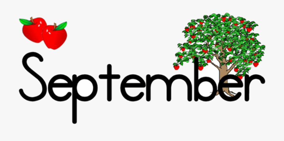 September Clipart , Transparent Cartoon, Free Cliparts.