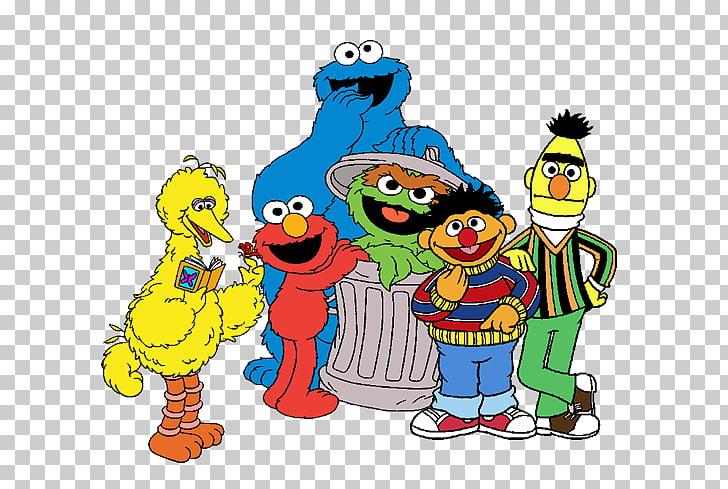 Elmo Enrique Big Bird Count von Count Cookie Monster, sesame.