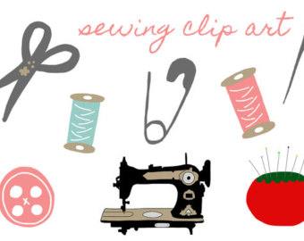 Free sewing clipart » Clipart Station.