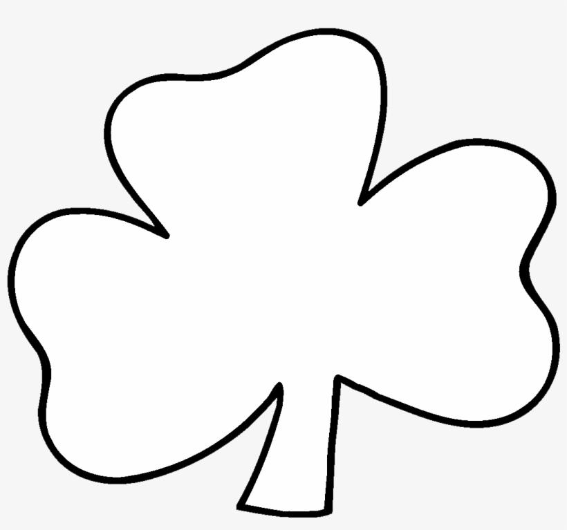 Irish Shamrock Clip Art Black And White X3cbx3eblackx3cx3e.