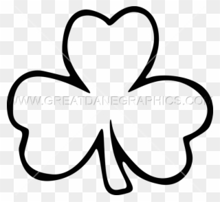 Free PNG Shamrock Clipart Black And White Clip Art Download.