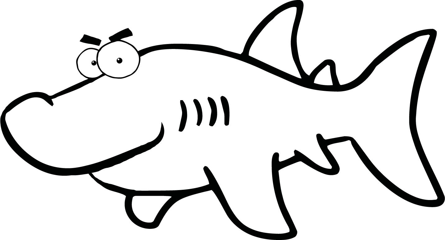 Free Black And White Shark Pictures, Download Free Clip Art, Free.