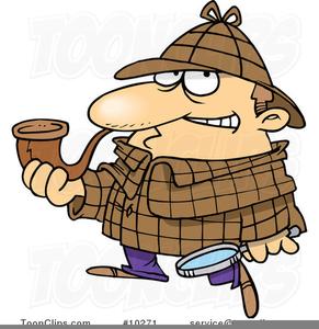 Sherlock Holmes Clipart.
