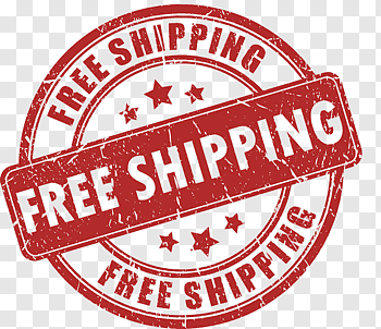 Free Shipping logo, Freight transport Postage stamp Sales.