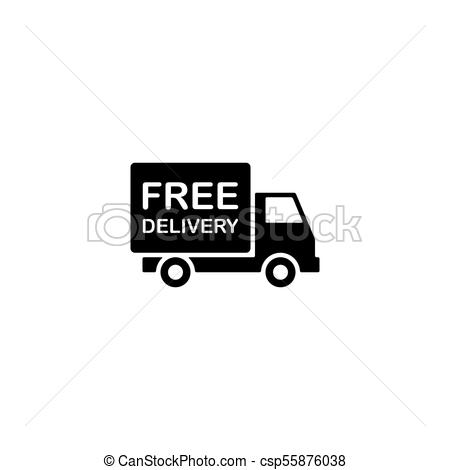 free delivery icon.
