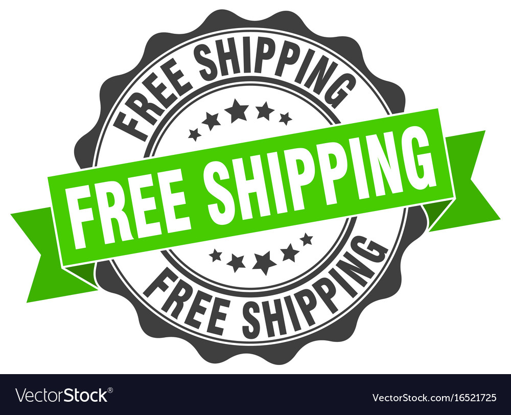 Free shipping stamp sign seal.