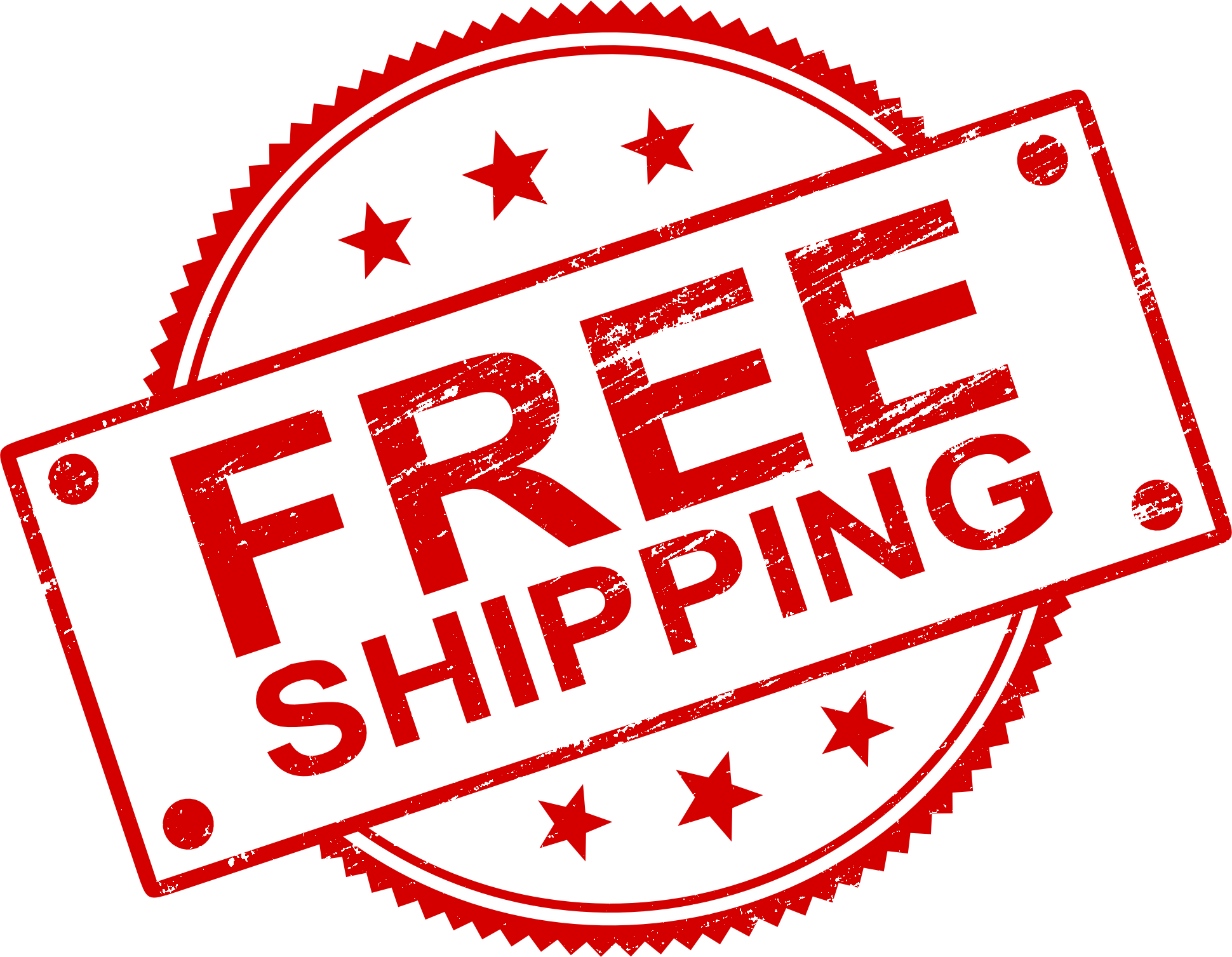 4 Free Shipping Stamp Vector (PNG Transparent, SVG.