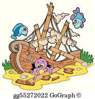 Shipwreck Clip Art.