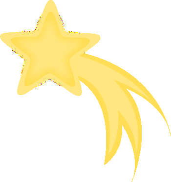 Falling Star Free Clipart.