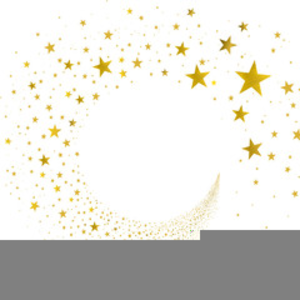 Yellow Shooting Star Clipart.