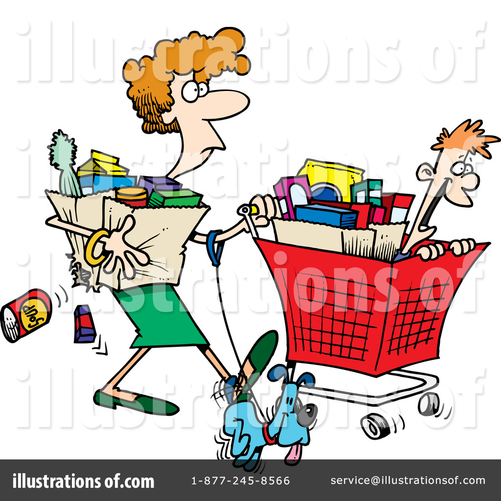 Shopping Clipart #1047896.