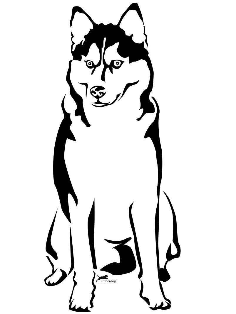 Free Siberian Husky Cliparts, Download Free Clip Art, Free Clip Art.