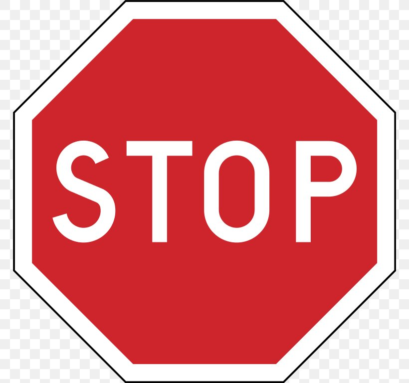 Stop Sign Traffic Sign Clip Art, PNG, 768x768px, Stop Sign.