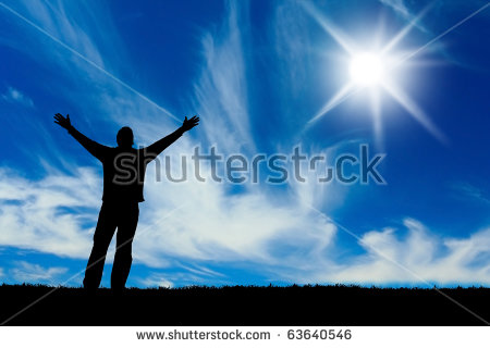 Praise And Worship Stock Images, Royalty.