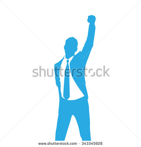 Man Arms Raised Stock Images, Royalty.