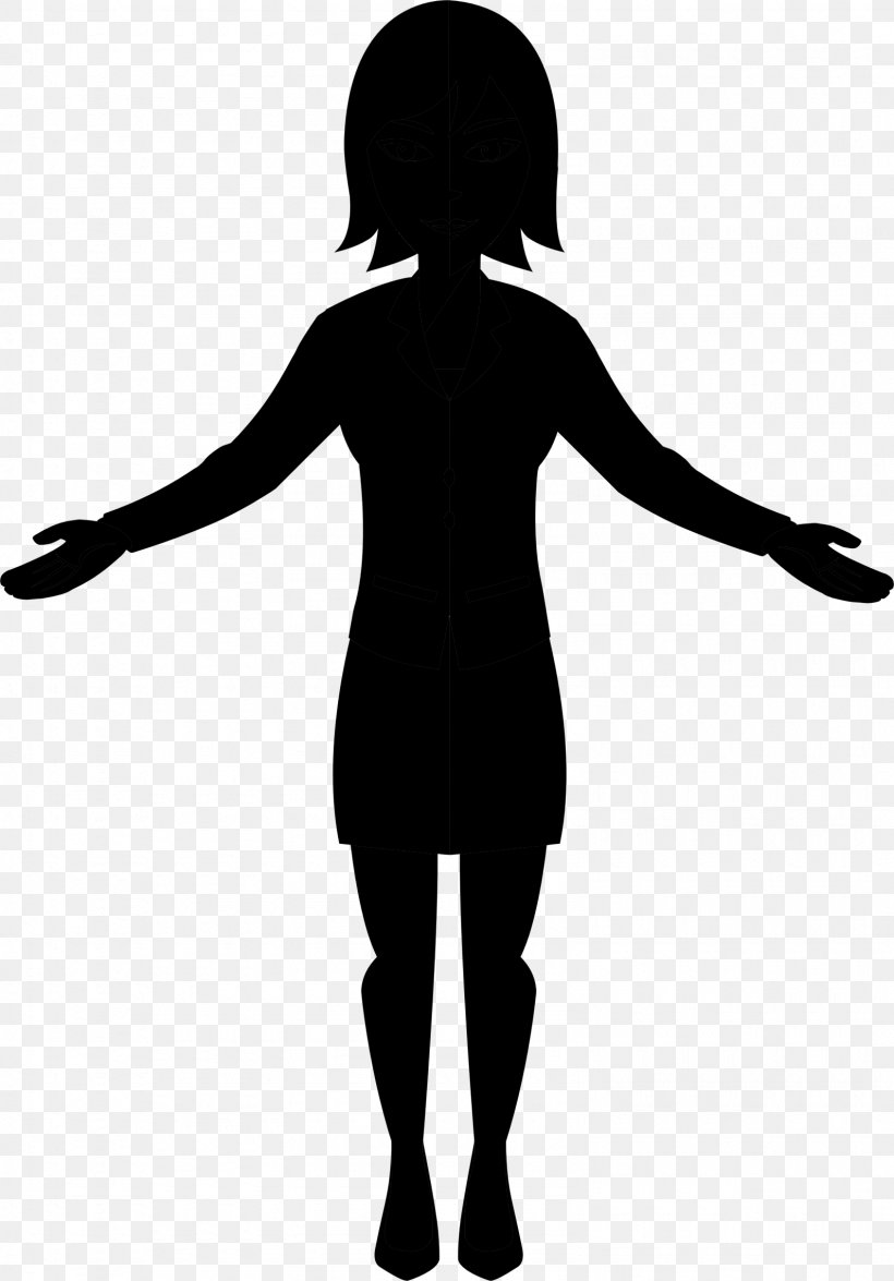 Clip Art Silhouette Vector Graphics Woman Image, PNG.