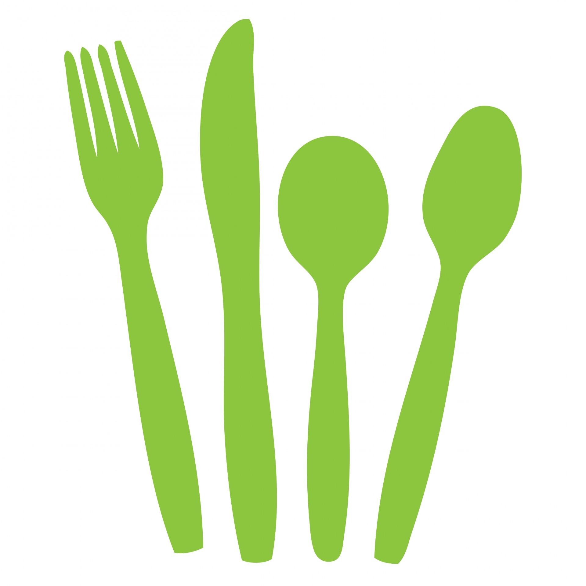Silverware free cutlery clip art.