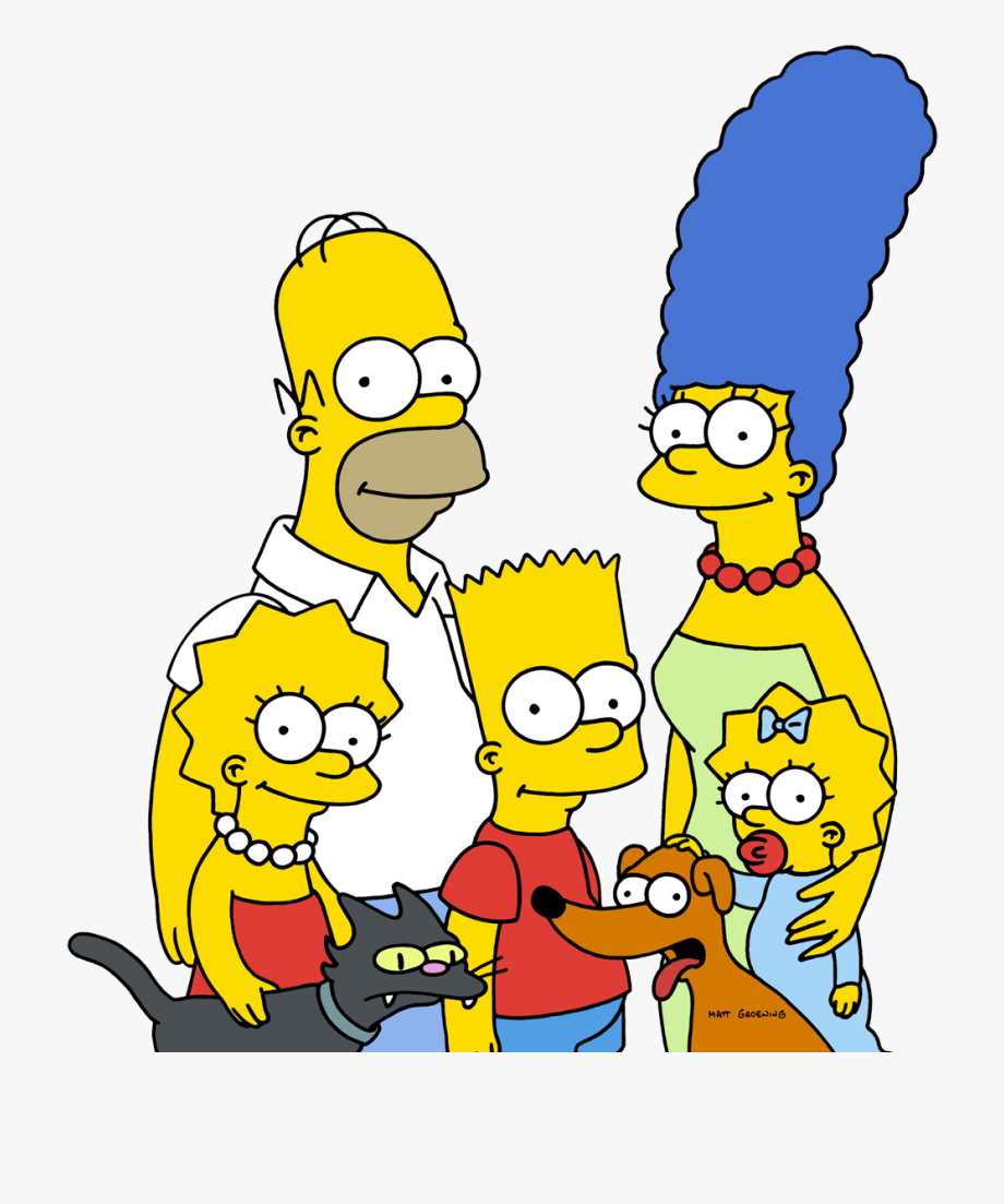 Download The Simpsons Png Clipart.