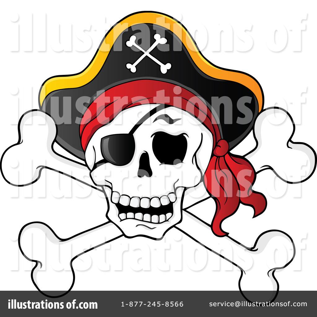Skull And Crossbones Clipart #1104910.