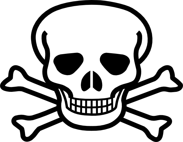 Free Skull And Cross Bones, Download Free Clip Art, Free.