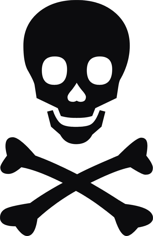 Free Skull And Cross Bones, Download Free Clip Art, Free.