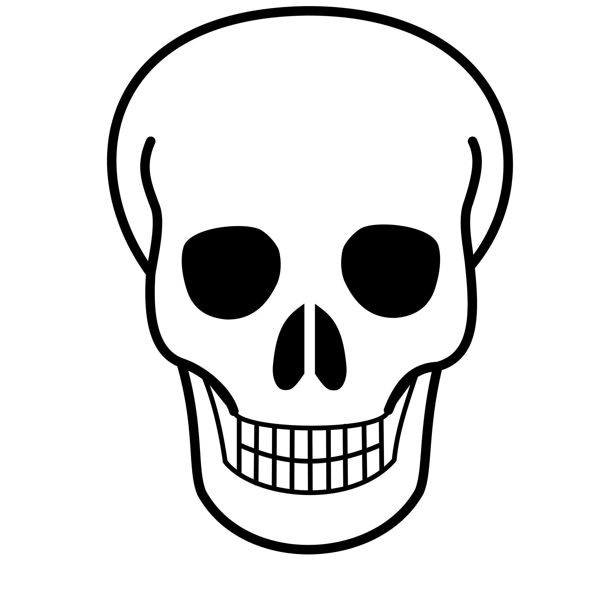 Skull clip art clipart images gallery for free download.