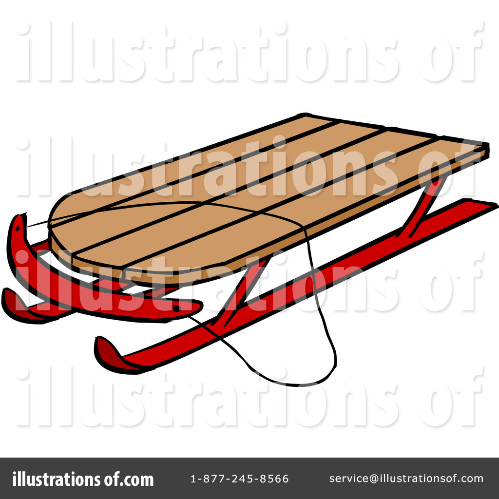 Sled Clipart #1106638.