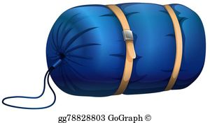 Sleeping Bag Clip Art.