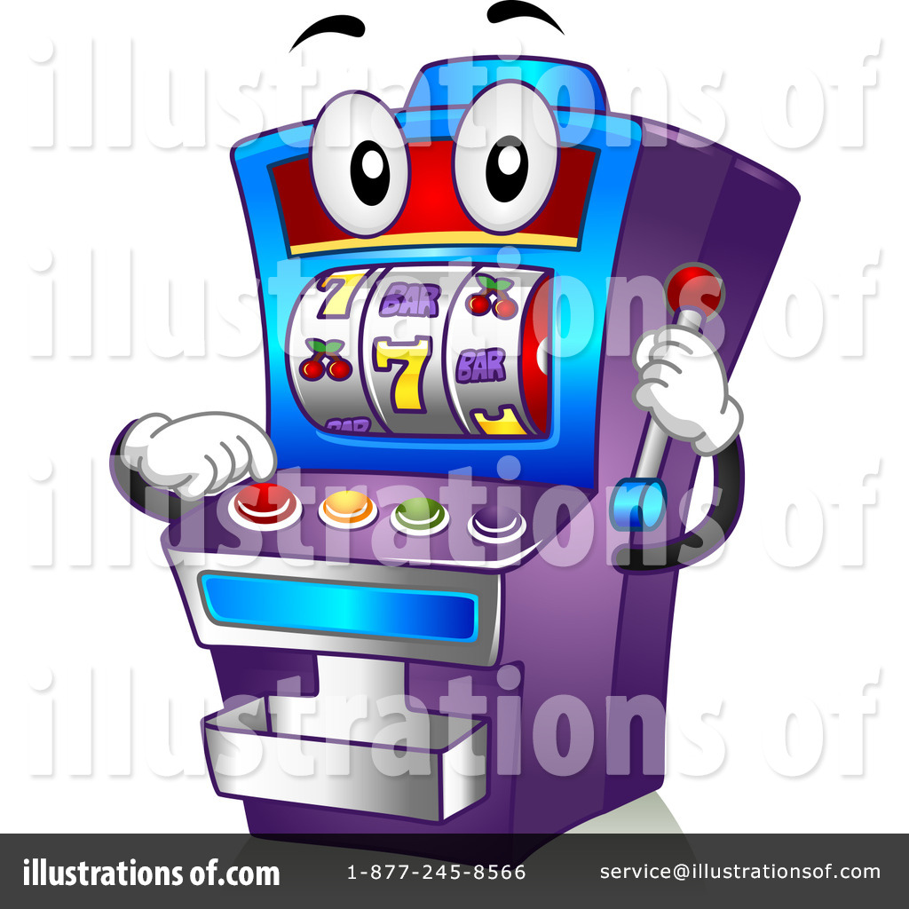 Slot Machine Clipart #1108956.