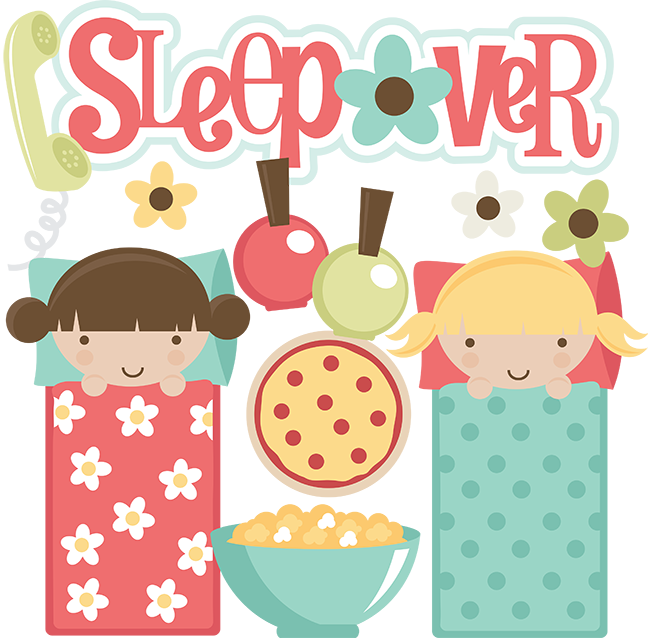 Slumber party sleepover party clipart wikiclipart.