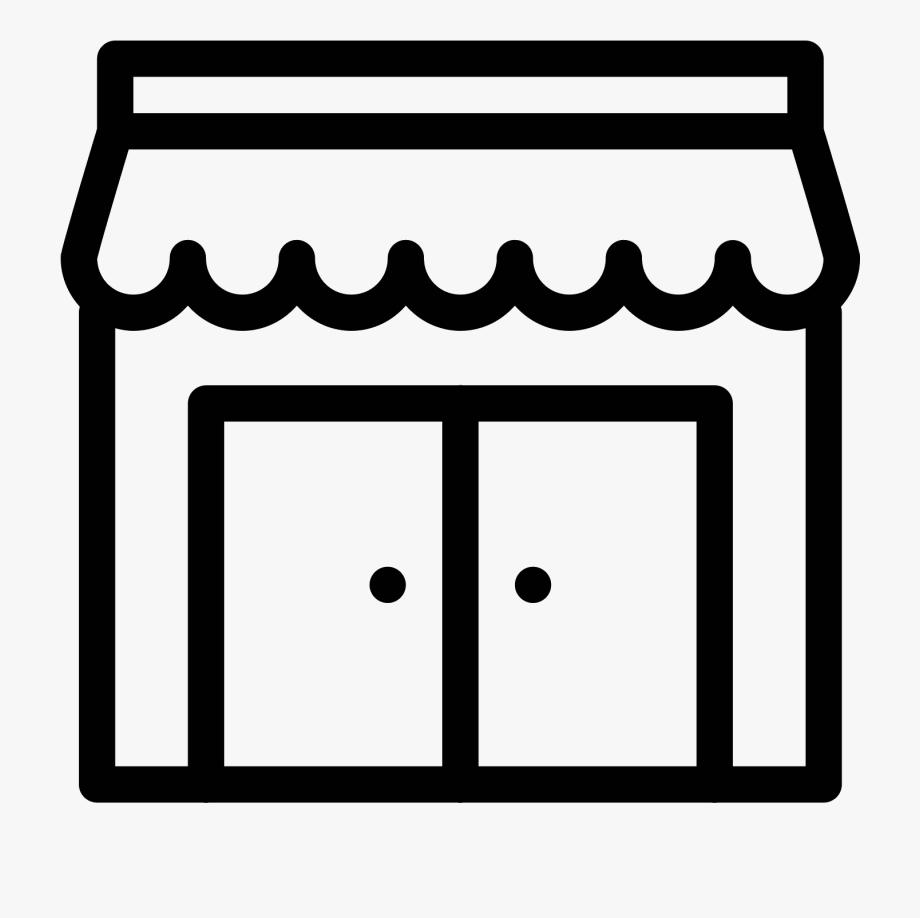 Storefront Vector Retro.